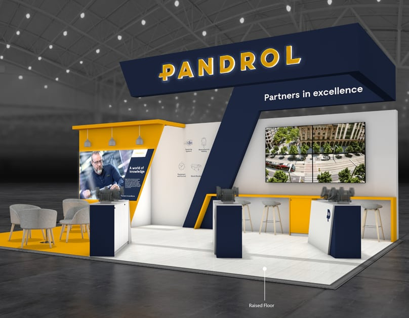 Pandrol Exhibition Stand<div style='clear:both;width:100%;height:0px;'></div><span class='desc'></span>