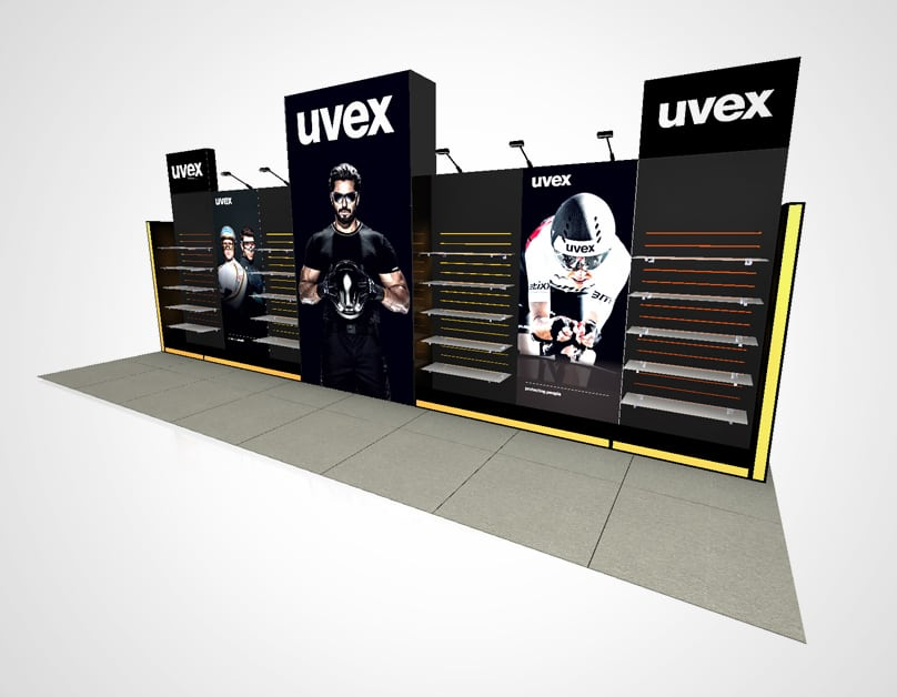 uvex Exhibition Stand<div style='clear:both;width:100%;height:0px;'></div><span class='desc'></span>